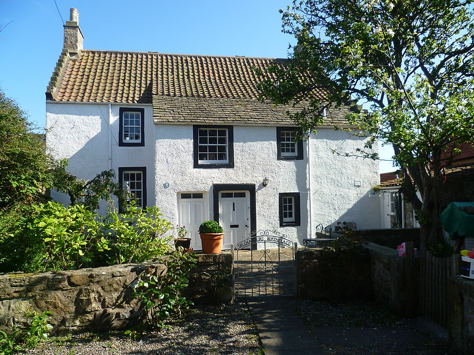 Thomas Chalmers' birthplace, Old Post Office Close, Anstruther