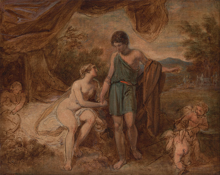 File:Thomas Stothard - An Unfinished Study of Venus and Adonis - Google Art Project.jpg