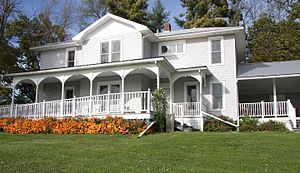 Westby, Wisconsin - The Thoreson Museum, home of the Westby Area Historical Society