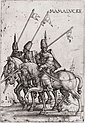 Three Mamelukes with lances on horseback.jpg