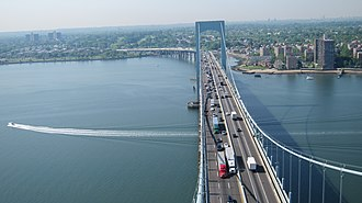 Throgs Neck Bridge - View from the north tower