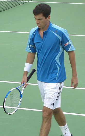 Tim Henman - Image: Tim Henman 2006 Australian Open
