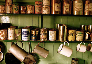 Tin cans - Port Lockroy - Antarctic Peninsula