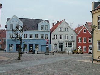 Tønder - Market square