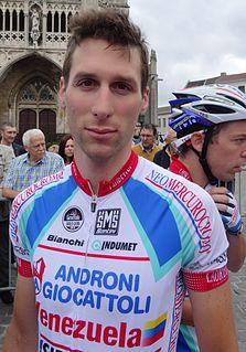 Tiziano DallAntonia Road bicycle racer