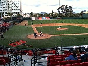 San Diego State Aztecs baseball - Image: Tony Gwynn Stadium 2