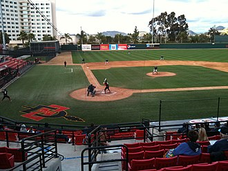 Tony Gwynn Stadium - Tony Gwynn Stadium's field during the Black and Blue Classic between SDSU and USD
