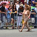 Topless woman at Chicago Pride.jpg