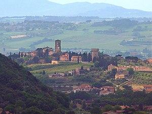 Torgiano - View of Torgiano