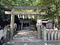 Torii of Yasaka Shrine in Iminomiya Shrine.JPG