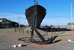 Chilean Torpedo boat Quidora (PTF-82) - Fresia in Punta Arenas
