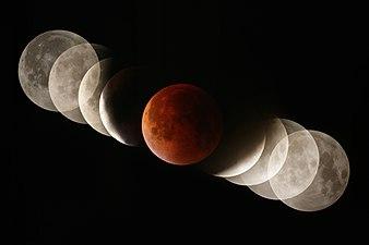 Total eclipse of the moon - Umbra crossing.jpg