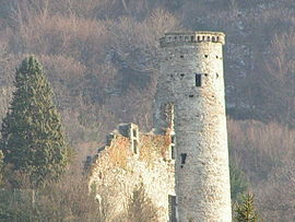The tower of Champ-sur-Drac