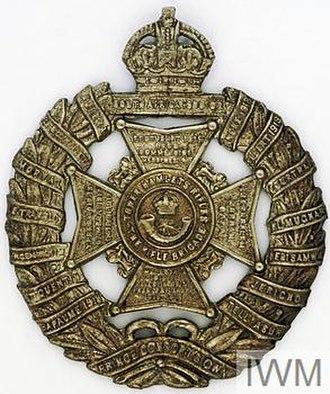 Poplar and Stepney Rifles - TowerHamletsRifles badge