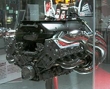 Photo du moteur Toyota RVX-01 de la TF101
