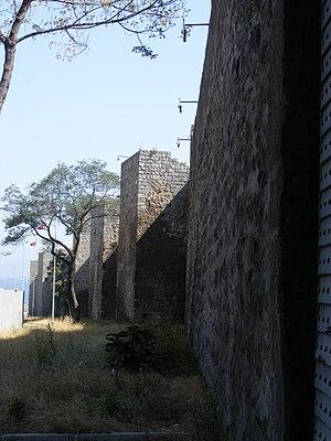 Walls of Trabzon - Image: Trabzon walls 3