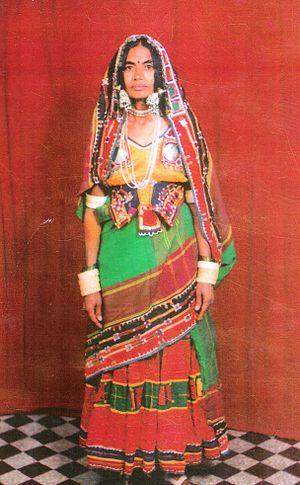Banjara - Image: Traditional banjara dress