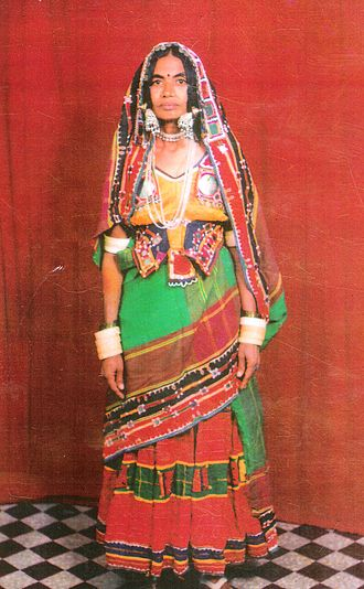 Banjara - Image: Traditional banjara dress