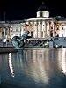 Trafalgar Square, fountain and National Gallery - 01.jpg