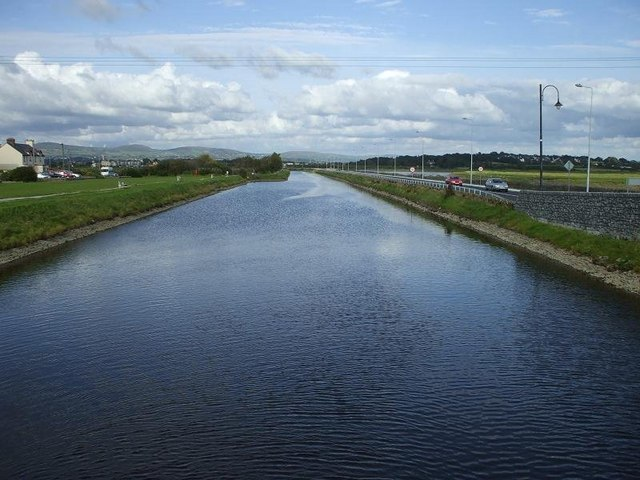 Tralee Ship Canal, Blennerville - geograph.org.uk - 521336