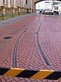 Tram tracks - Edmund Street, Birmingham - Andy Mabbett.JPG