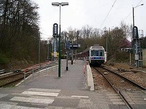 Saint-Nom-la-Bretèche - Forêt de Marly Station - The Transilien Line L station