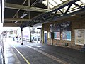 Transition from 'inside' to 'outside', northern end of Winchester station - geograph.org.uk - 1715269.jpg