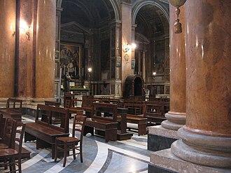 Santissima Trinità dei Pellegrini, Rome - Nave
