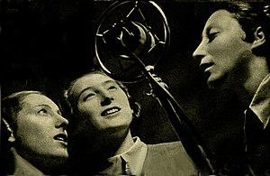 Trio Lescano - Trio Lescano in 1938