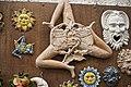 Triskèle (image de gorgone) est le symbole historique de la Sicile -Trinacria était le nom de l'île à l'époque grecque.jpg