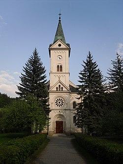 Trnava (okres Zlín) - kostel zepředu.jpg