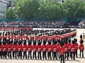 Trooping the colour 2008 Massed Bands.JPG