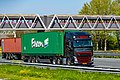 Truck Spotting on the A16 Direction Zwijndrecht 19 04 2019.... Not the Best spot with the Barrier , But better than Nowt . (46728425545).jpg
