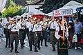 Trumpet Festival in Guca Serbia Defile.jpg
