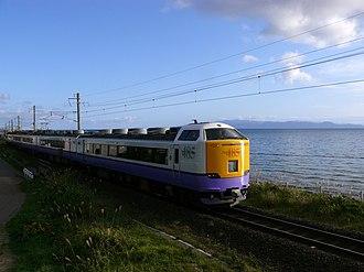 Tsugaru Line - Tsugaru Line along Mutsu Bay