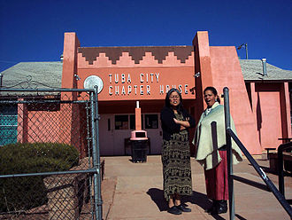 Tuba City, Arizona - Tuba City Chapter House of the  Navajo Nation.