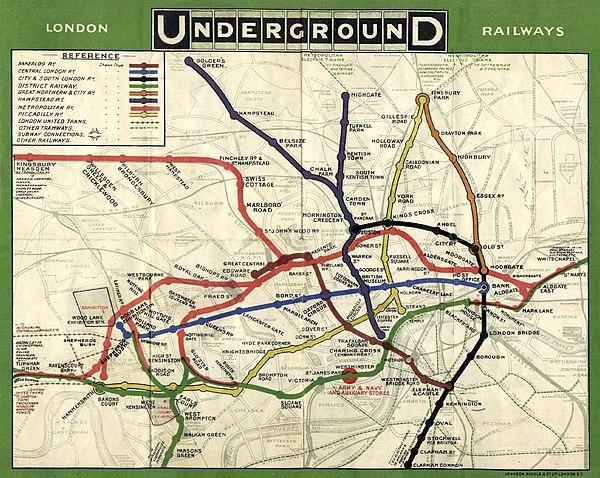 Tube map - Wikiwand