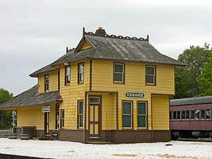 Tuckahoe, New Jersey - The Historic Tuckahoe Train Station