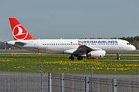 TC-JUK - A320 - Turkish Airlines