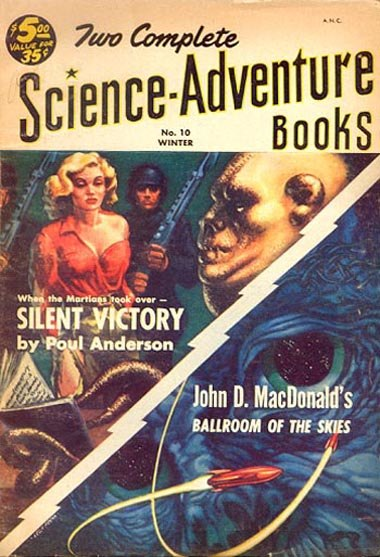 Two complete science adventure books 1953win n10