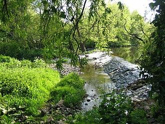 River Tyne, Scotland - Image: Tyne at Preston Mill