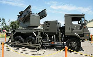 Type 81 (missile) Type of Mobile, short-range surface-to-air missile