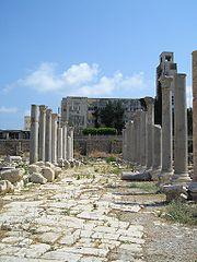 Agora romaine de Tyr (fouilles archéologiques d'Al Mina)