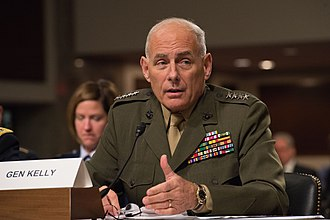 John F. Kelly - Kelly testifying before the Senate Armed Services Committee