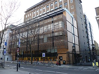 Thomas Young Centre - Image: UCL Engineering building Torrington Place