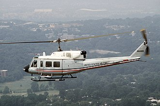 Bell UH-1N Twin Huey - A USAF UH-1N during Exercise Wounded Eagle '83