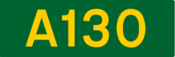 A130 road shield