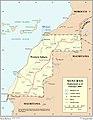 UN map MINURSO Deployment-feb-2009.jpg