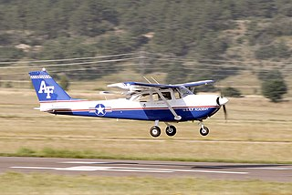 Cessna T-41 Mescalero US built military training aircraft series developed from Cessna 172