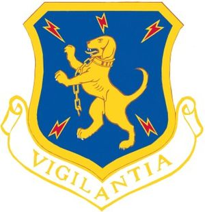 32d Air Division - Image: USAF 32d Air Division Crest